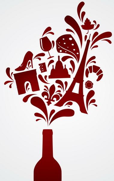 France wine bottle culture 600