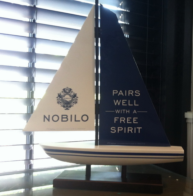 Nobilo Toronto sailboat