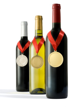 medals for wine