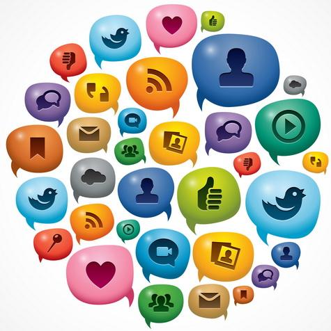 social media cloud small
