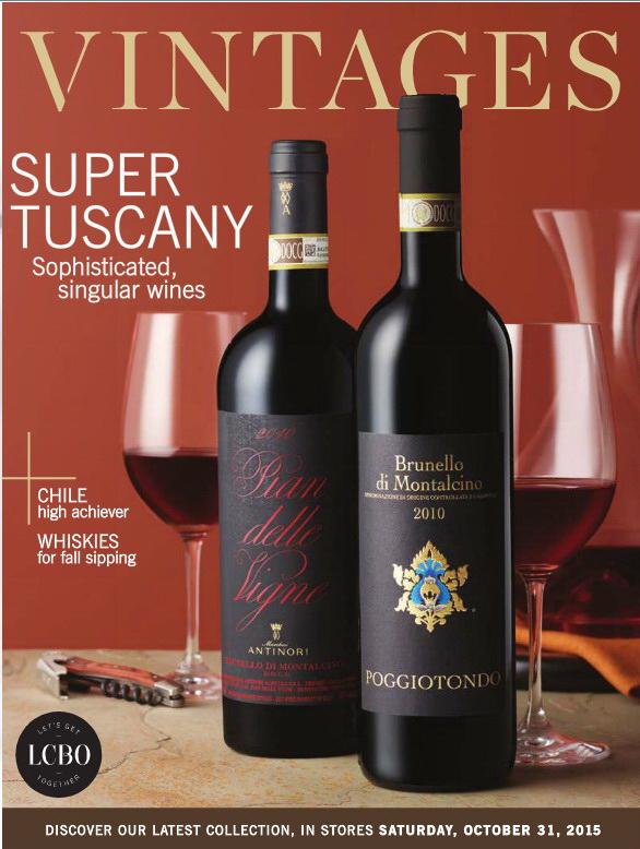 October 31 2015 Vintages Catalogue
