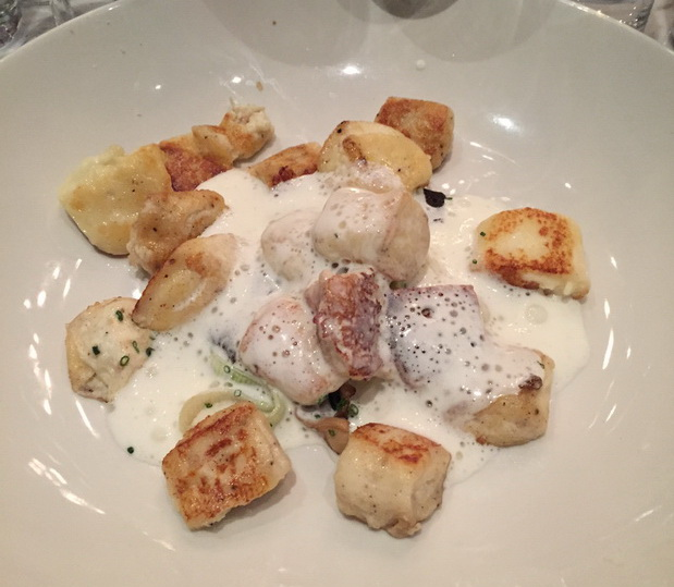 Ruffino Scallop dish