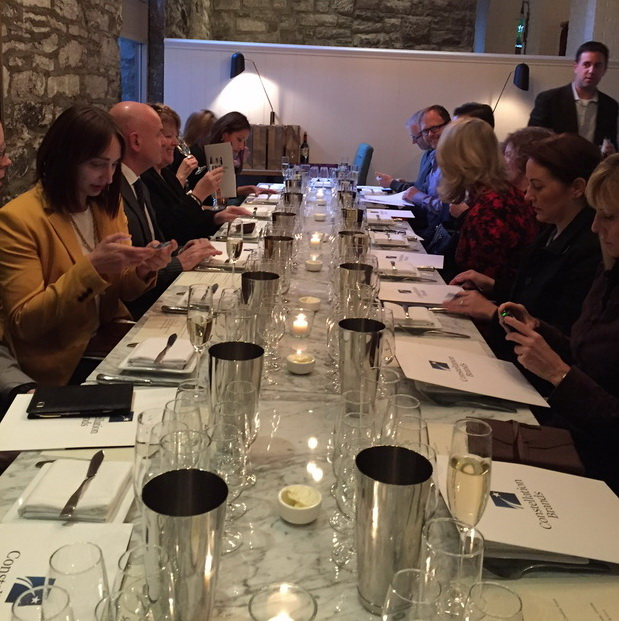 Ruffino Tasting Group at Table