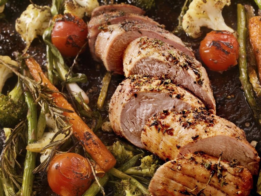 pork tenderloin roast veg xl