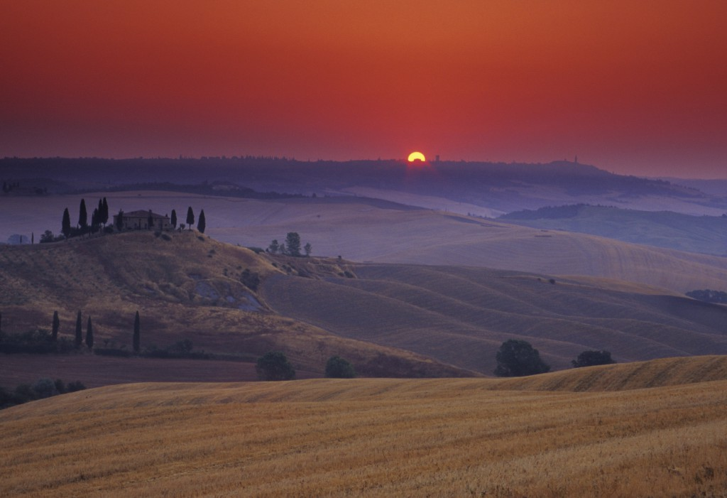 tuscany sunset XL