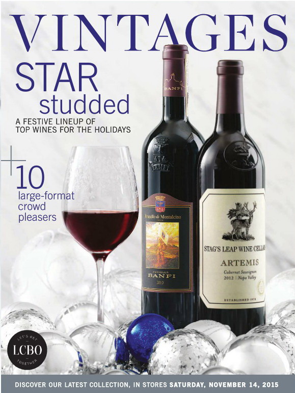 November 14 2015 Vintages Catalogue