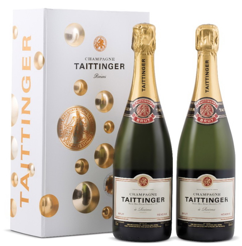 Taittinger gift pack