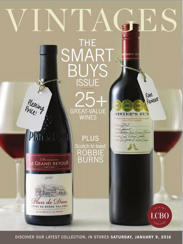 Vintages Catalogue January 9 2016 Cover 2