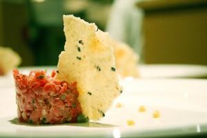 Beef Tartar by Chef Eyal Liebman