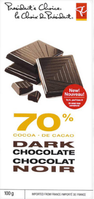 PC 70% Cocoa Dark Chocolate