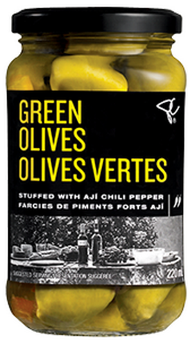 PC Black Label Green Olives Stuffed