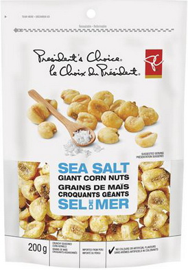 PC Sea Salt Giant Corn Nuts