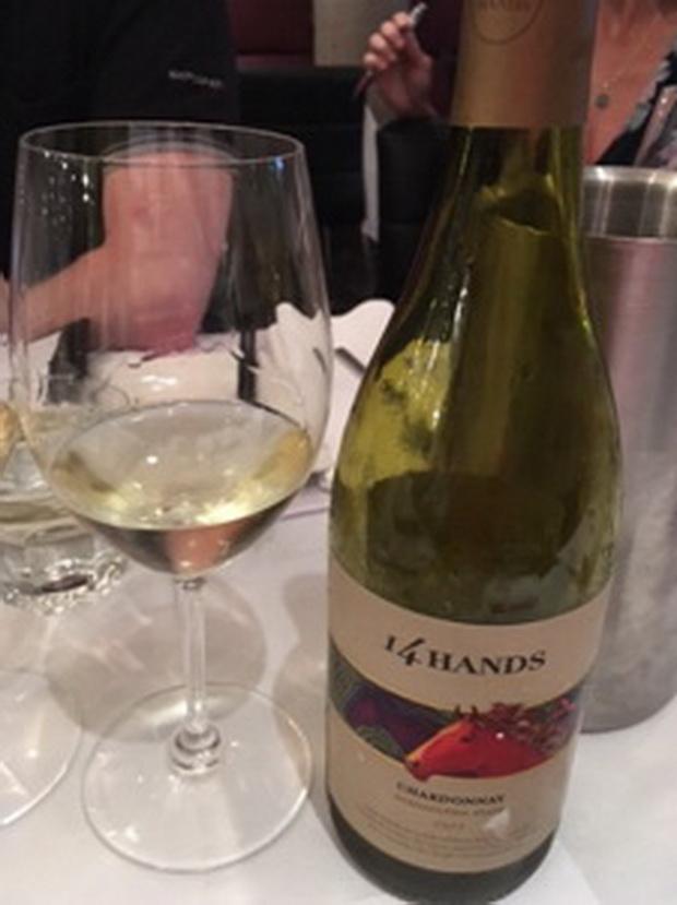 CC 14 Hands white wine