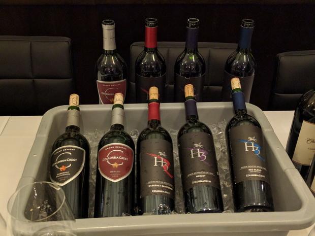 HW 5 Bottles of Wine on ice