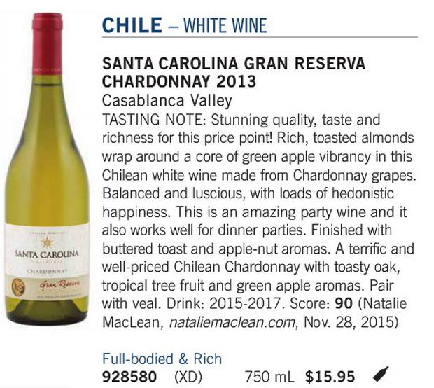 Santa Charolina Chardonnay