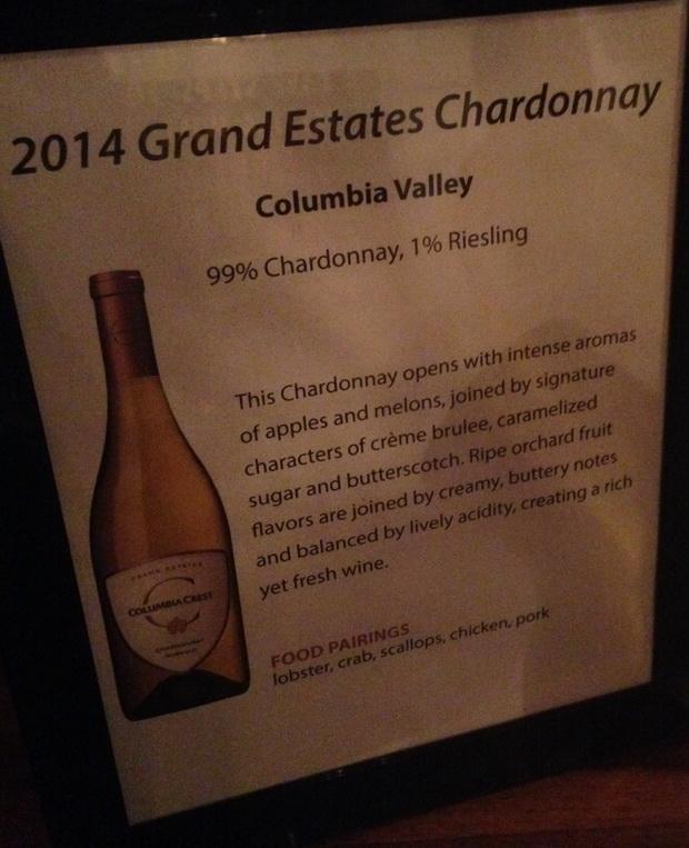 MM 2014 Grand Estates Chardonnay