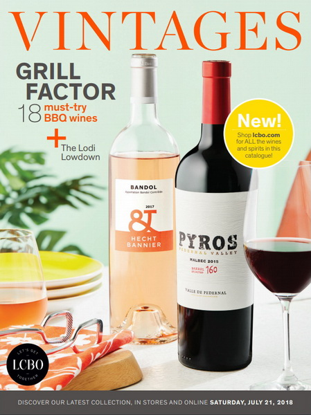 Best LCBO Wine Reviews: Vintages Ratings July 21