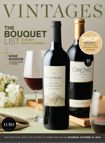 Best LCBO Wine Reviews: Vintages Ratings October 13