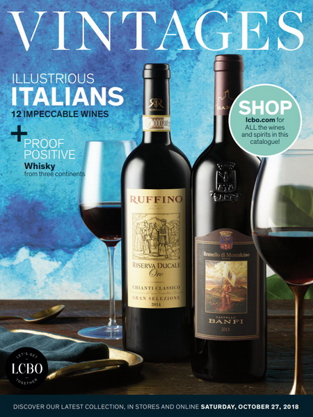 Best LCBO Wine Reviews: Vintages Ratings October 27