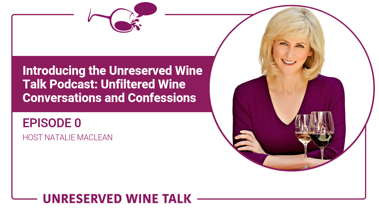 Unreserved Wine Talk Natalie MacLean