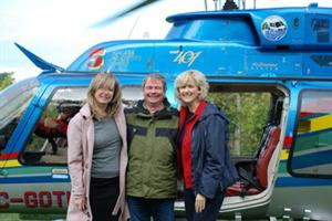 Pairing Wine with Helicopter & Quail at Malivoire Winery