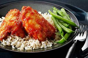 Baked Barbecue Pineapple Chicken