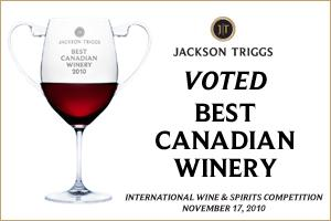 Jackson Triggs captures 'Best Canadian Wine Producer' at the IWSC Competition