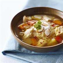Chicken Mulligatawny Soup (Slow Cooker)