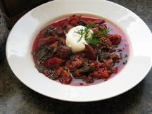Quick and Easy Borscht
