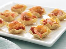 Salsa Shrimp Melts