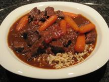 Cabernet Beef Stew with Hoisin Sauce