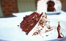 Special Delivery Black Forest Brandy Cake