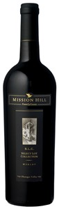 Mission Hill Family Estate Select Lot Collection Merlot 2006