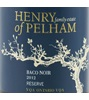 Henry of Pelham Winery Reserve Baco Noir 2012
