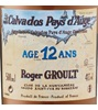 Roger Groult 12 Years Old Calvados Pays D'auge