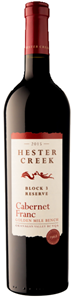 Hester Creek Estate Winery Block 3 Reserve Cabernet Franc 2015