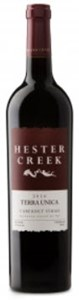 Hester Creek Estate Winery Terra Unica Cabernet Syrah 2016