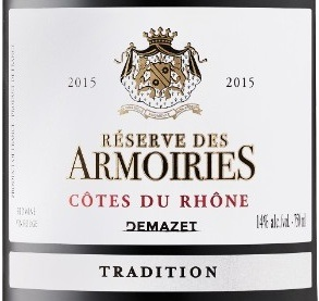 demazet r serve des armoiries tradition 2015 expert wine. Black Bedroom Furniture Sets. Home Design Ideas