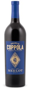 Francis Ford Coppola Diamond Collection Blue Label Merlot 2014