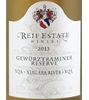 Reif Estate Winery Reserve Gewürztraminer 2013