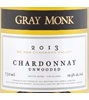 Gray Monk Unwooded Chardonnay 2013