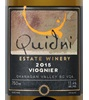 Quidni Estate Winery Viognier 2015