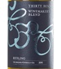 Thirty Bench Wine Makers Riesling 2015