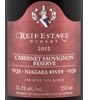 Reif Estate Winery Reserve Cabernet Sauvignon 2012