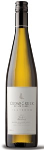 CedarCreek Estate Winery Platinum Block 3 Riesling 2018