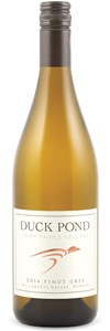 Duck Pond Cellars Fries Family Cellars Pinot Gris 2011