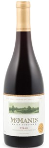 McManis Family Vineyards Syrah 2010