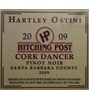 Hartley Ostini Hitching Post Cork Dancer Pinot Noir 2009