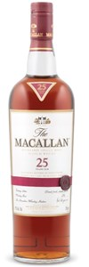 The Macallan Sherry Oak 25 Years Old Highland Single Malt Scotch Whisky