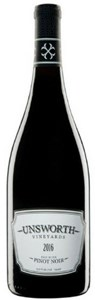 Unsworth Vineyards Pinot Noir 2016